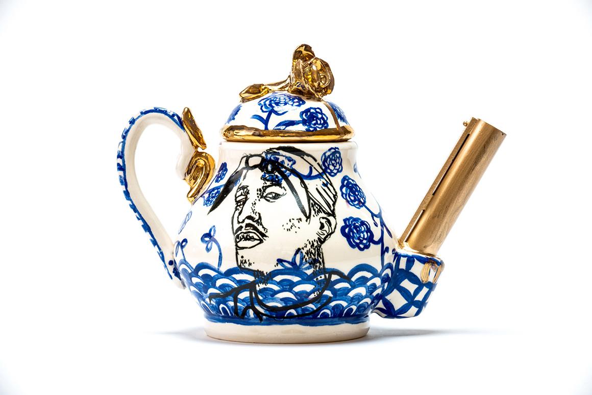 Tupac/MLK Teapot