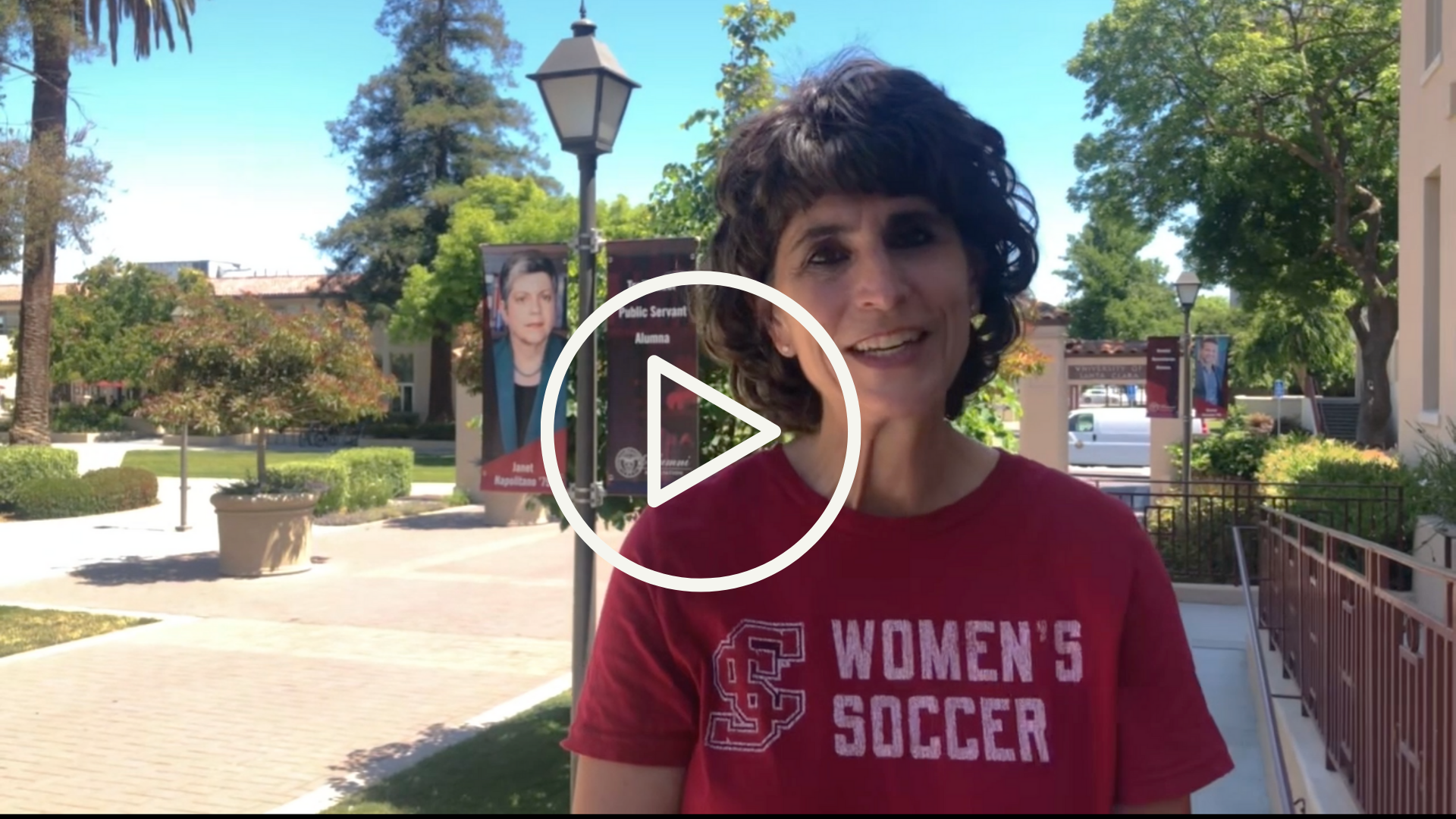 Video thumbnail of Kathy Kale, AVP of Alumni Relations